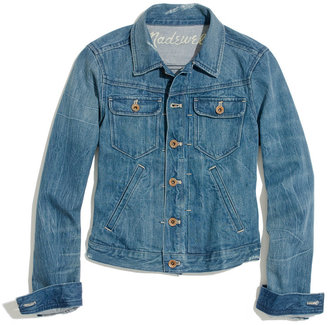 Madewell Shrunken Jean Jacket