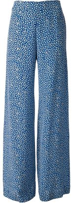 Cacharel patterned wide leg trousers