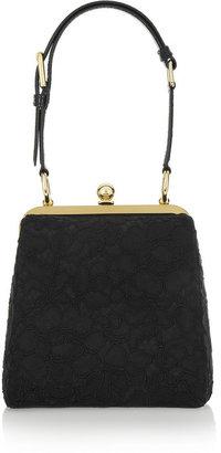 Dolce & Gabbana Agata ayers-trimmed lace shoulder bag