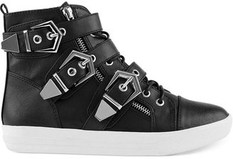 Shellys London Klikta High Top Sneakers