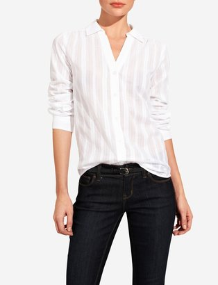The Limited Stripe Textured Shirt