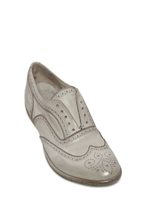Officine Creative 20mm Washed Leather Laceless Brougue