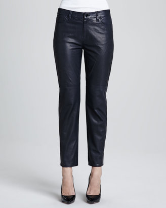 J Brand Ready to Wear Paulette Cropped Leather Pants