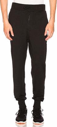 Y-3 Yohji Yamamoto Classic Cuff Pant in Black $200 thestylecure.com