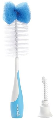 Munchkin Bottle & Nipple Brush - Blue