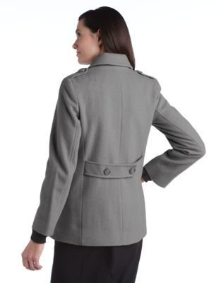 Larry Levine Double Breasted Pea Coat