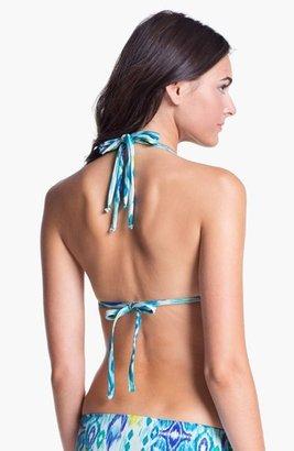 LaBlanca La Blanca 'Shirred Brilliance' Halter Bikini Top