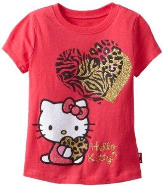 Hello Kitty Girls 2-6X Tee Shirt With...