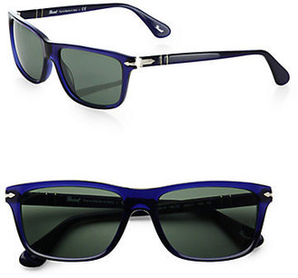 Persol Acetate Rectangular Sunglasses