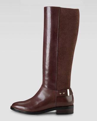 Cole Haan Adler Flat Knee Boot, Chestnut