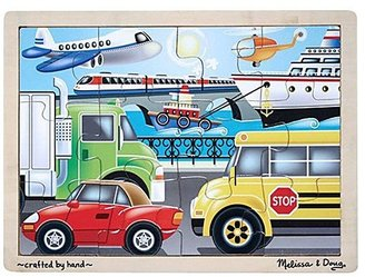Melissa & Doug On the Go Vehicles Jigsaw Puzzle (12 pc)