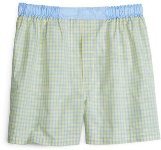 Brooks Brothers Slim Fit Plaid with End-on-End Boxers