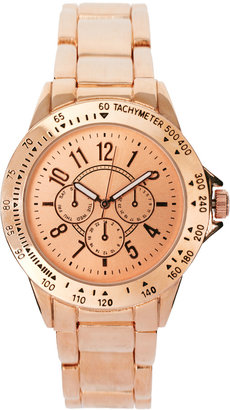 Asos Rose Gold Sports Watch