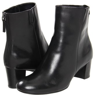 Ecco Nioki 55 MM Mid Cut Zip (Black) - Footwear
