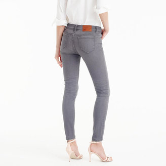 "J.Crew 8"" Toothpick Jean In Grey"