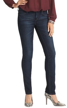 LOFT Modern Premium Straight Leg Jeans in Collegiate Blue Wash