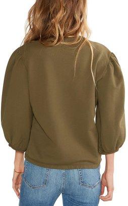 ÉTICA Marie Puff-Sleeve Sweatshirt