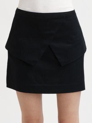 Tibi George Peplum Skirt