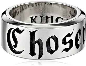 King Baby Chosen Sterling Silver Ring, Size 7 $235 thestylecure.com