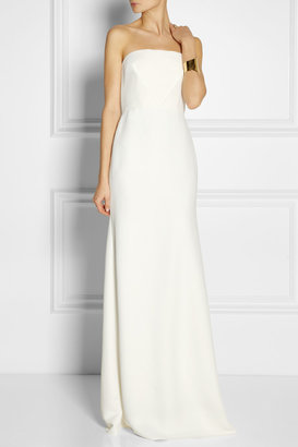 Calvin Klein Collection Tabata strapless cady gown