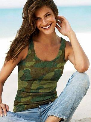 Victoria's Secret Ultimate tank in stretch with shelf bra