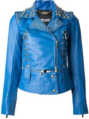 Just Cavalli studded bluette jacket