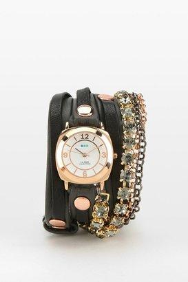 La Mer Astoria Crystals Wrap Watch
