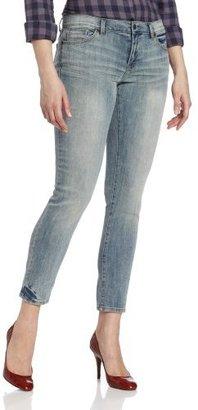 Calvin Klein Jeans Women's Slim Boyfriend With Rolled Cuffs