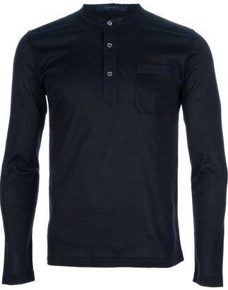 Lanvin henley t-shirt