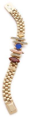 Iosselliani Brass Bracelet with Studs