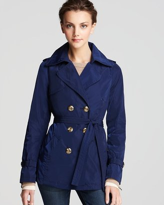 Trina Turk Homage Classic Short Trench Coat