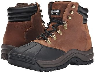 Propet Blizzard Mid Lace (Brown/Black) Men's Boots