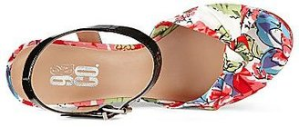 JCPenney 9 & Co.® Abrielle 2 Floral Wedge Sandals