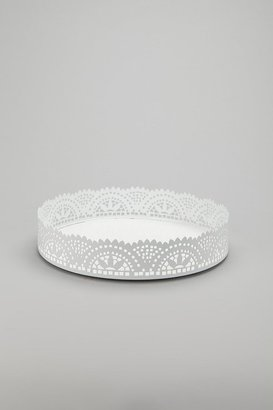 Cut Lace Vanity Tray