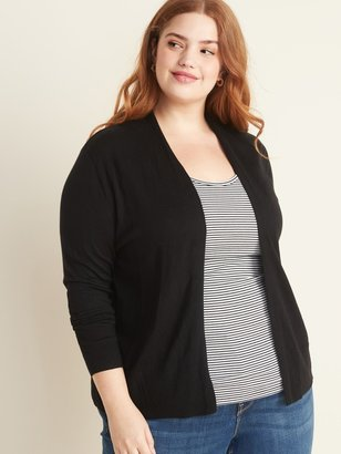 Old Navy Plus-Size Short Open-Front Sweater
