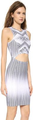 Torn By Ronny Kobo Yonal Maze Print Dress