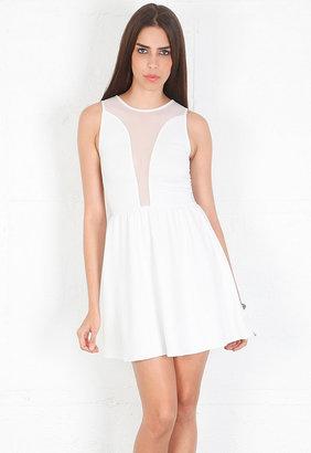 Lulu For Love & Lemons Dress in Ivory