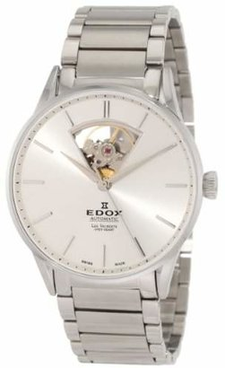 Edox Men's 85011 3B AIN Les Vauberts Automatic Dial Steel Bracelet Watch