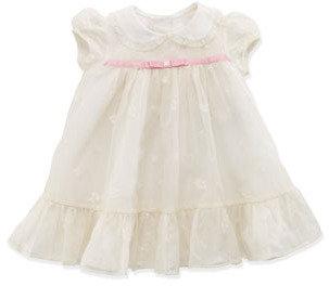 Ralph Lauren Baby Embroidered Organza Dress, 3-12 Months