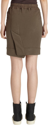 Rick Owens Drawstring Mini Skirt