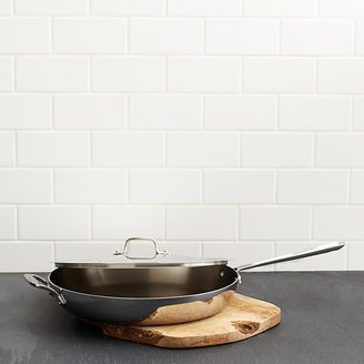 "All-Clad Stainless Steel 13"" French Skillet with Loop & Lid"