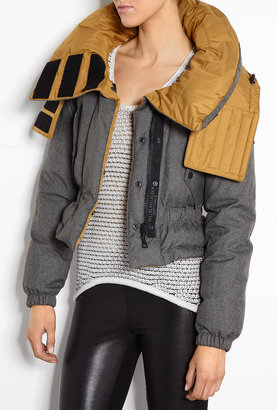 Burberry Sport Cropped Reversible Jacket