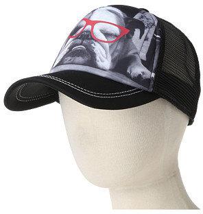 San Diego Hat Company Kids CTK3400 Dog With Glasses Trucker Hat (Little Kids)