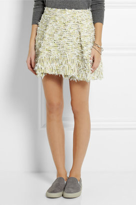 3.1 Phillip Lim Textured-tweed mini skirt