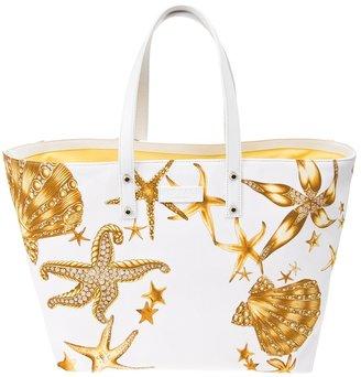 Versace starfish beach bag