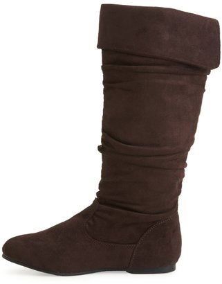 Aeropostale Blue Suede Shoes® Tall Fold Boot