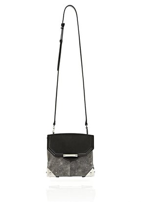 Alexander Wang Marion In Distressed Black With Rhodium