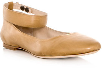 Chloé Leather ankle-strap shoes