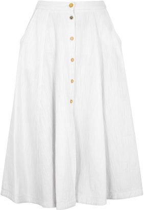 Forte Forte White Denim Skirt