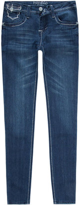 Vanilla Star HIPPIE LAUNDRY Stud Pocket Girls Skinny Jeans